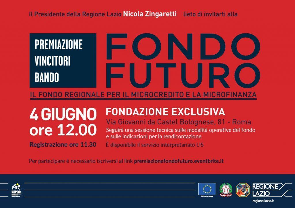 Premiazione vincitori Bando Fondo Futuro logo