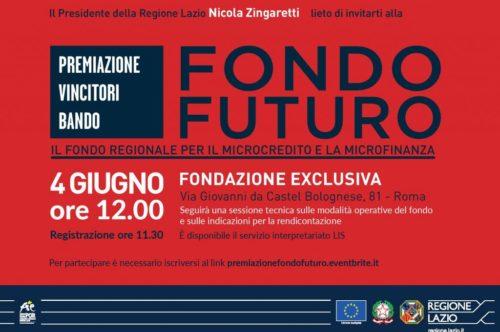 Premiazione vincitori Bando Fondo Futuro