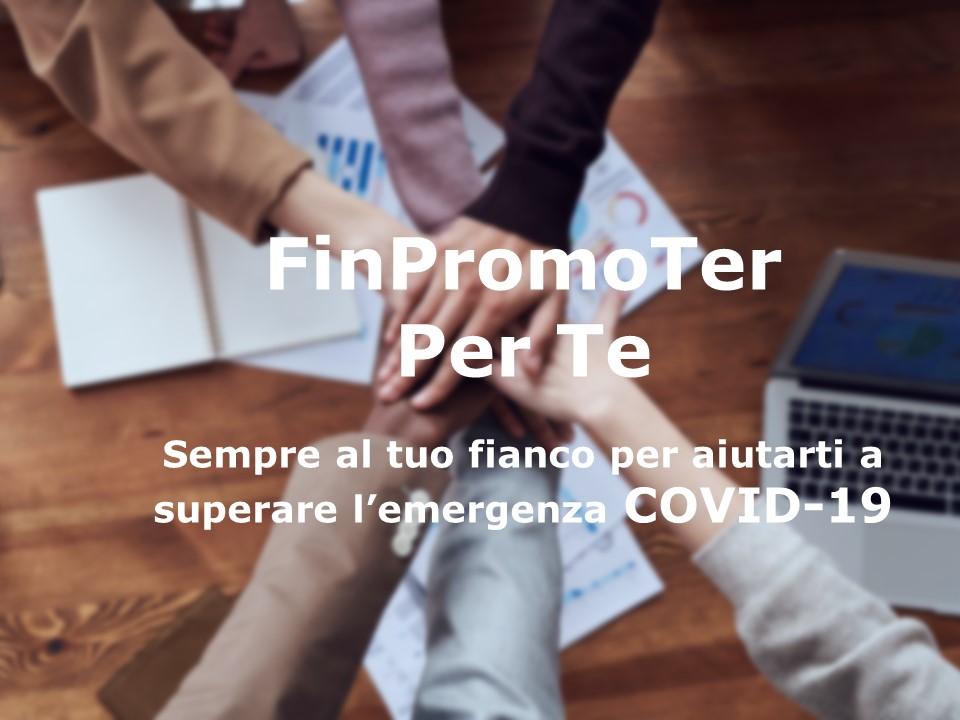 Oggi più che mai FinPromoTer è per Te! logo
